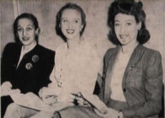 Dorothy Fields, Celeste Holm and Betty Bruce