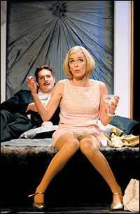 Mark Umbers as Vittorio and Tamzin Outhwaite as Charity